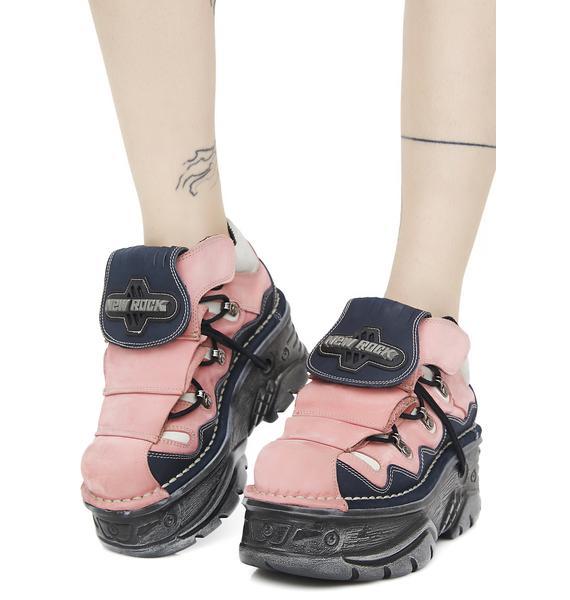 New Rock Apocalypse Platform Shoes