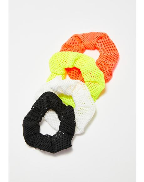 The New Girl Scrunchies Set