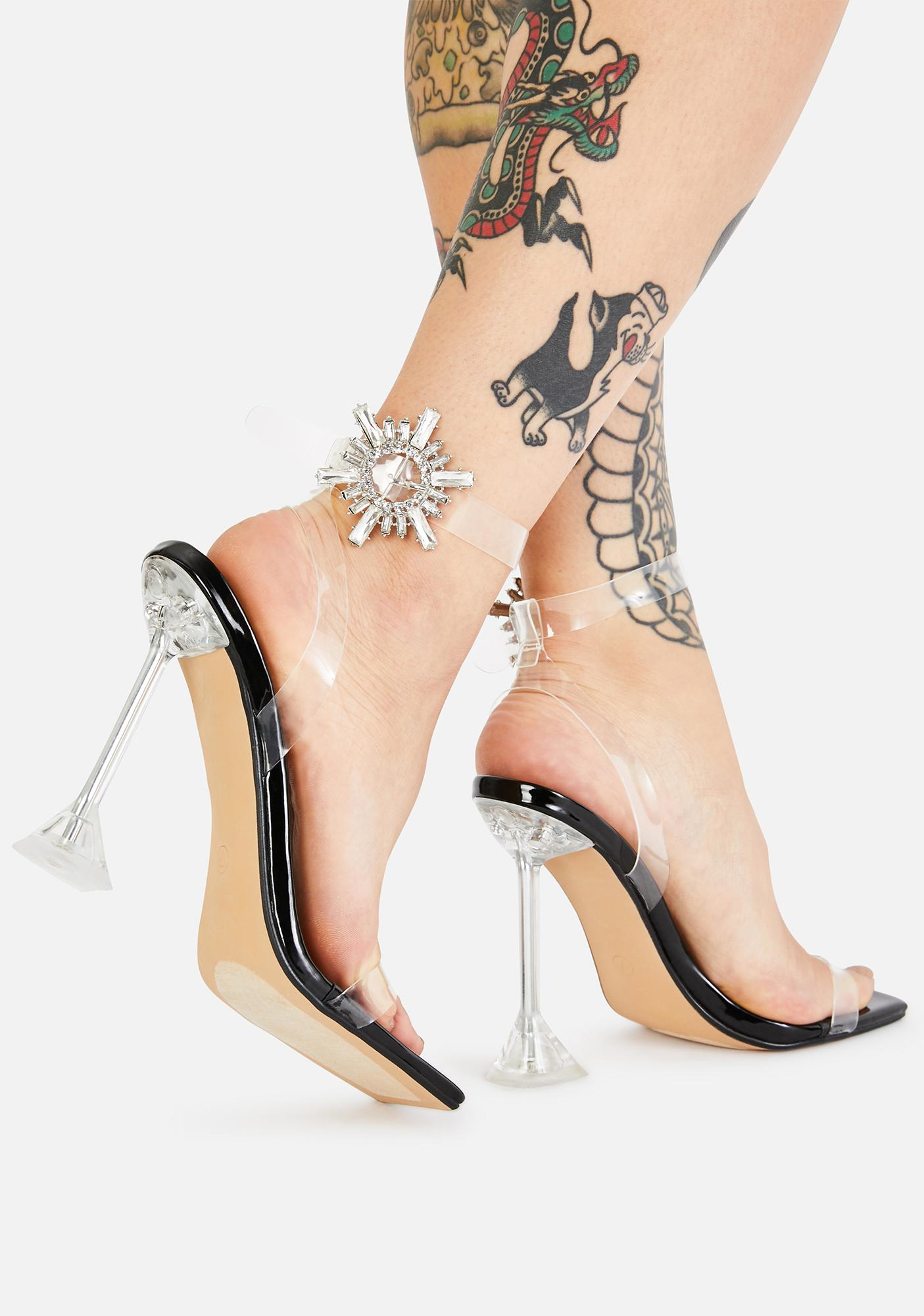 Prized Possession Clear Heels
