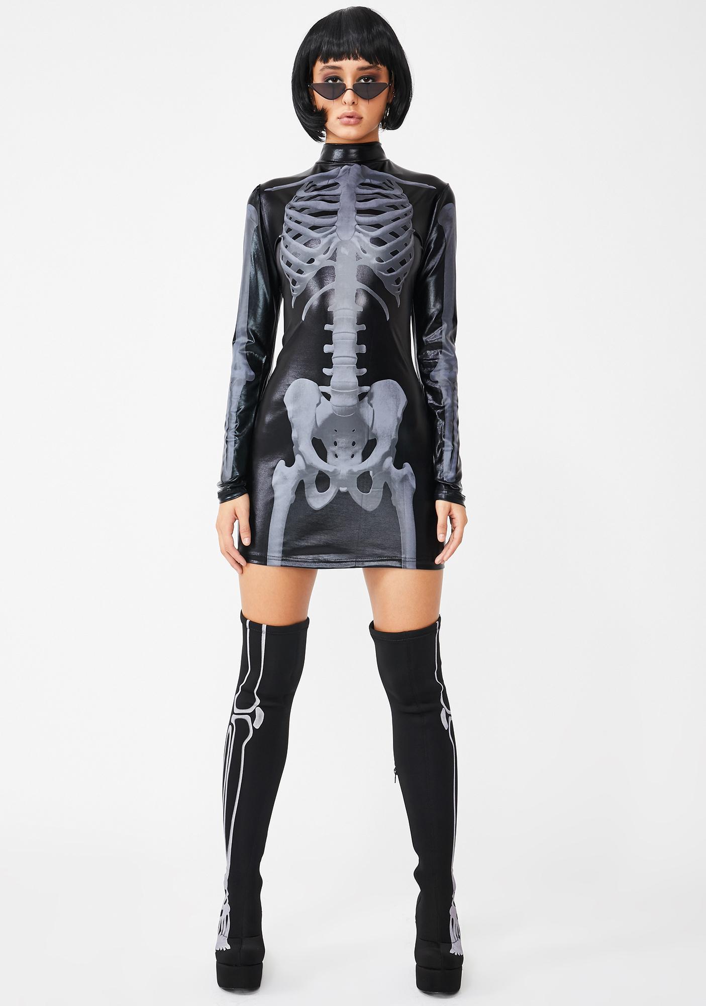 Rattle Your Bones Skeleton Dress