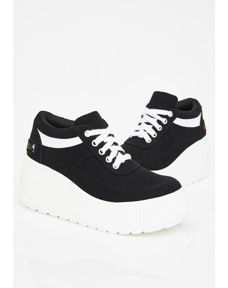 All That Platform Sneakers