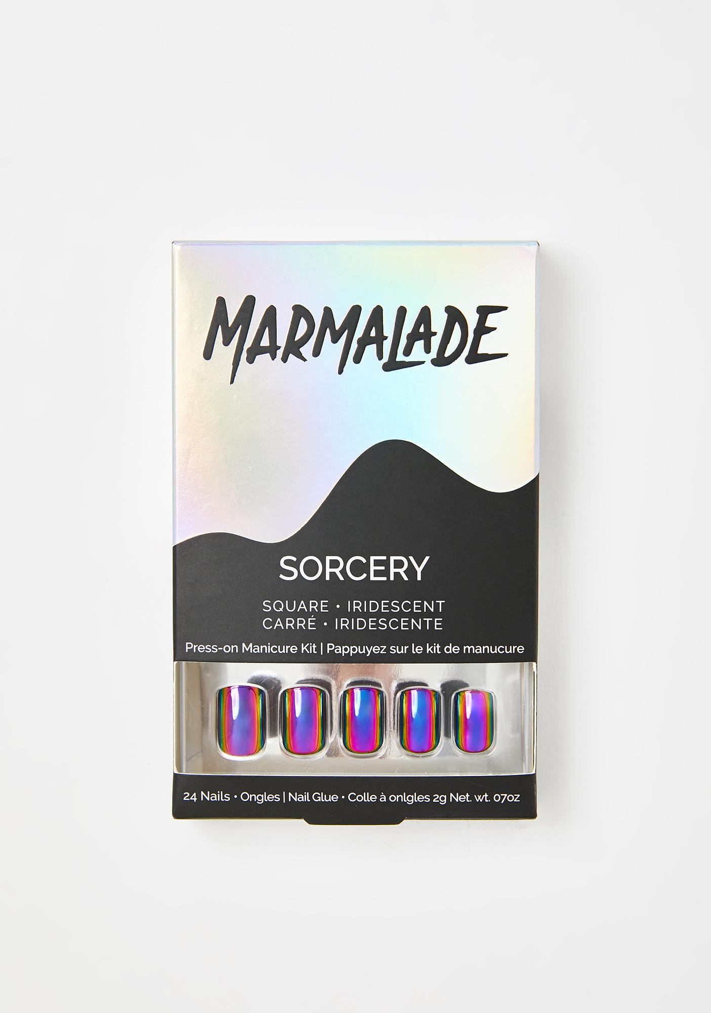 Marmalade Sorcery Press On Nails