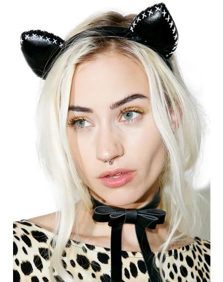 Bad Cat Headband