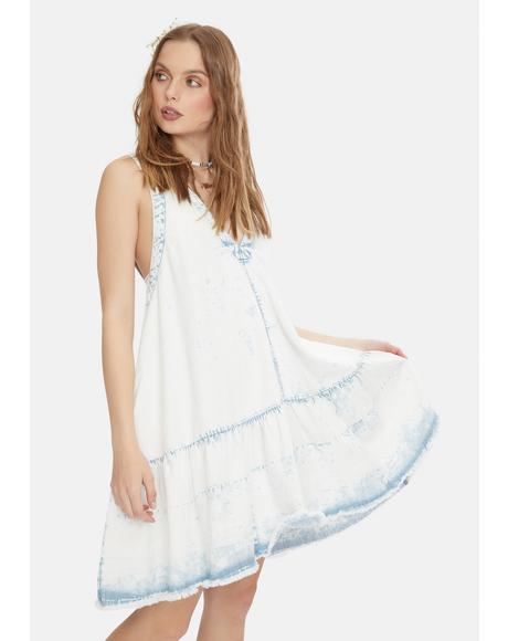 Sunspray Denim Mini Dress