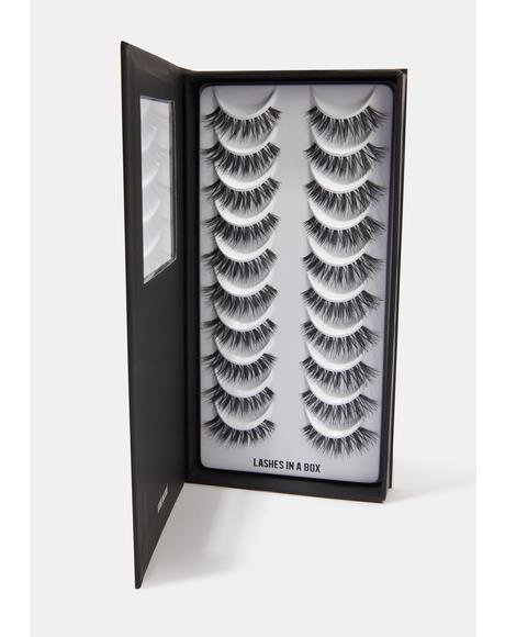 Number 24 Natural Hair Eyelashes