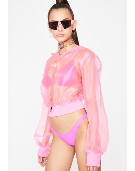 Candy Sass Scene Organza Hoodie