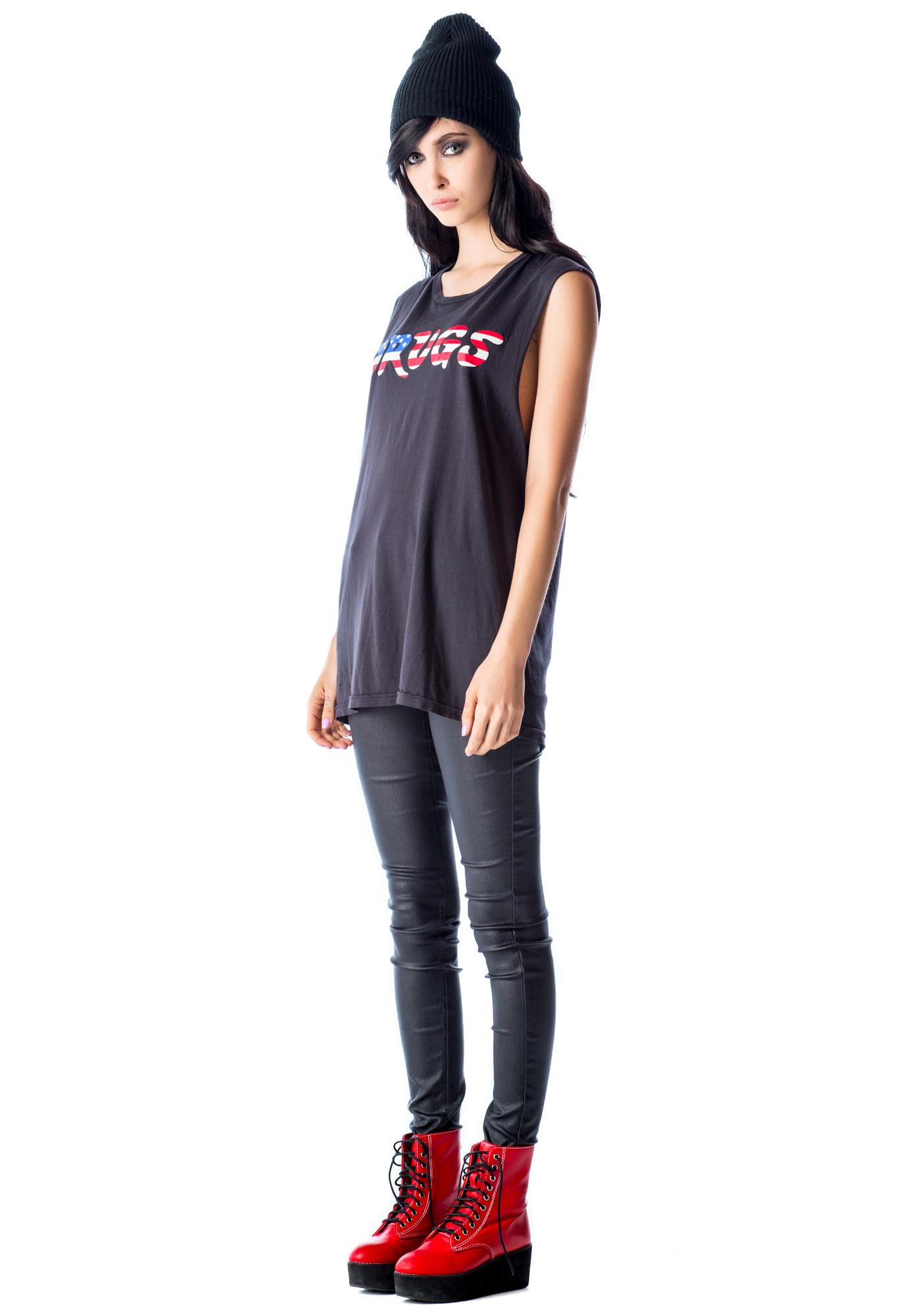 Lip Service USA Drugs Sleeveless Tee