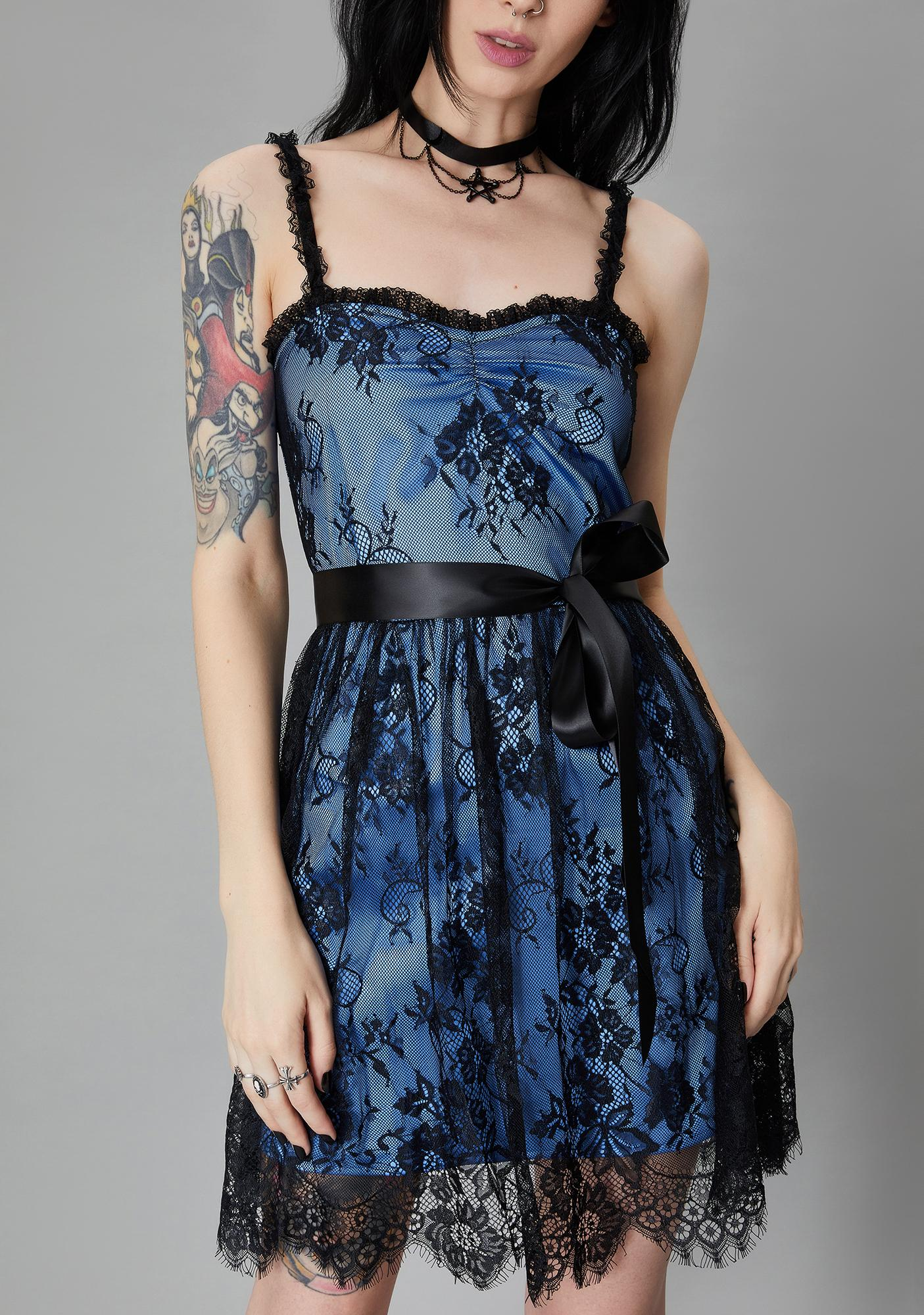 Widow Happily Ever Never Lace Dress
