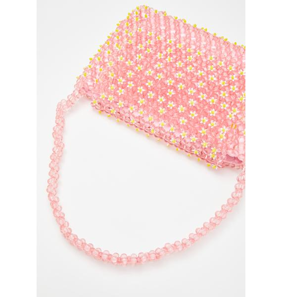 Skinnydip Elda Daisy Beaded Shoulder Bag