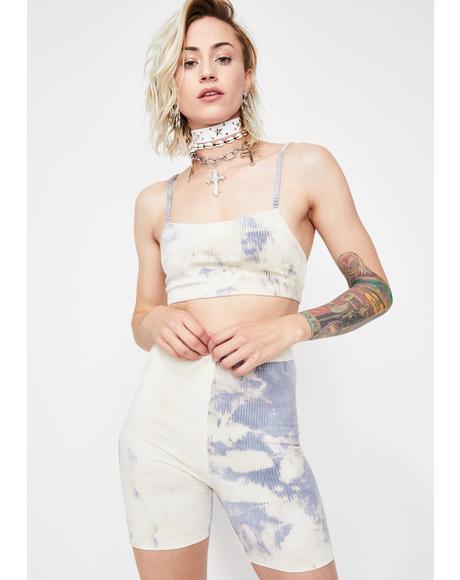 Hippie Babe Tie Dye Shorts