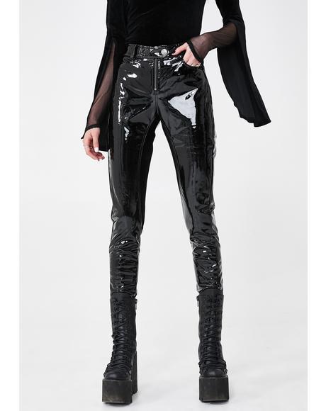 Meteora Vinyl Pants