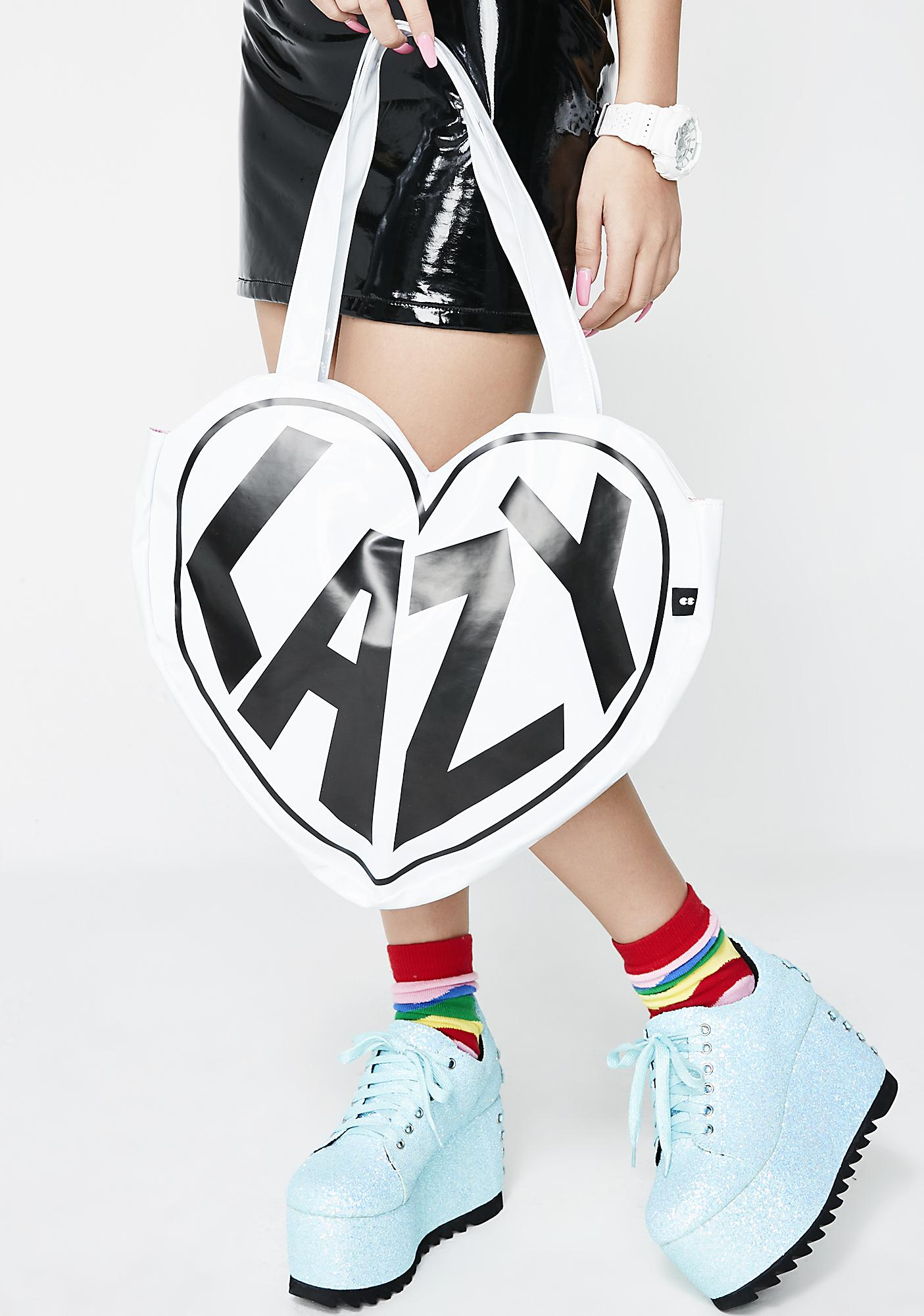 Lazy Oaf I Heart Lazy Tote