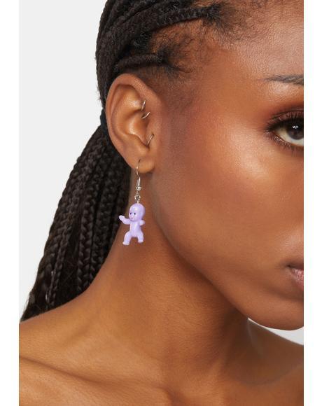 Magic Baby Talk Drop Earrings