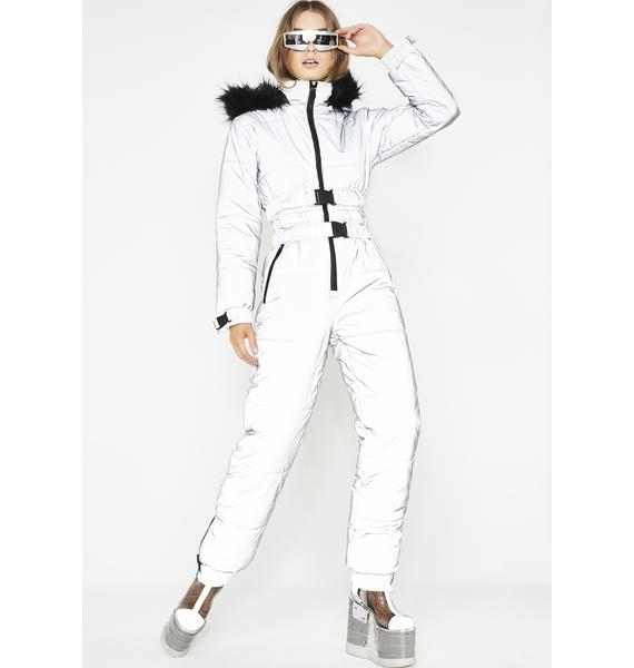 Club Exx Gamma Ray Glimmer Reflective Snowsuit