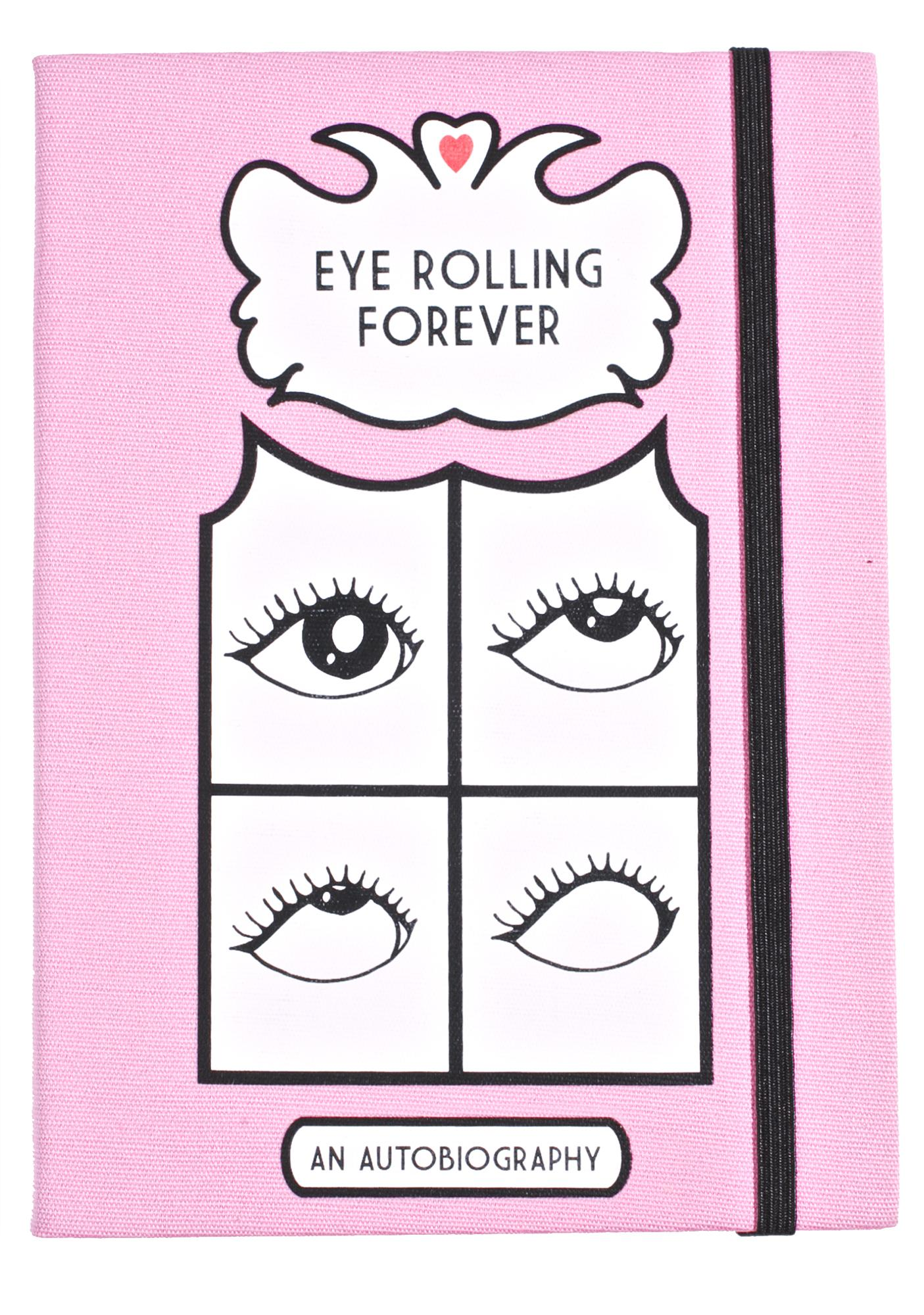 Valfré Eye Rolling Forever Journal
