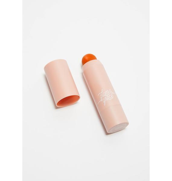 Glam & Grace Tanned Peach Matte Bronzer Multistick