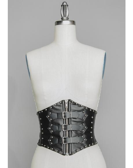 Nocturnal Void Waist Cincher