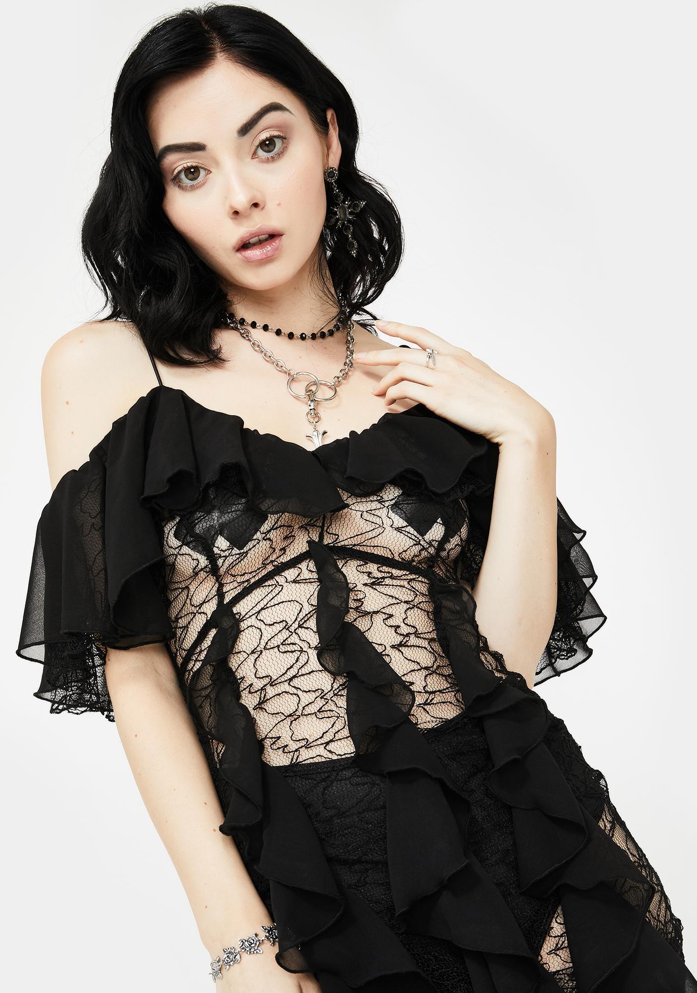 Kiki Riki Haunted Ex Maxi Dress