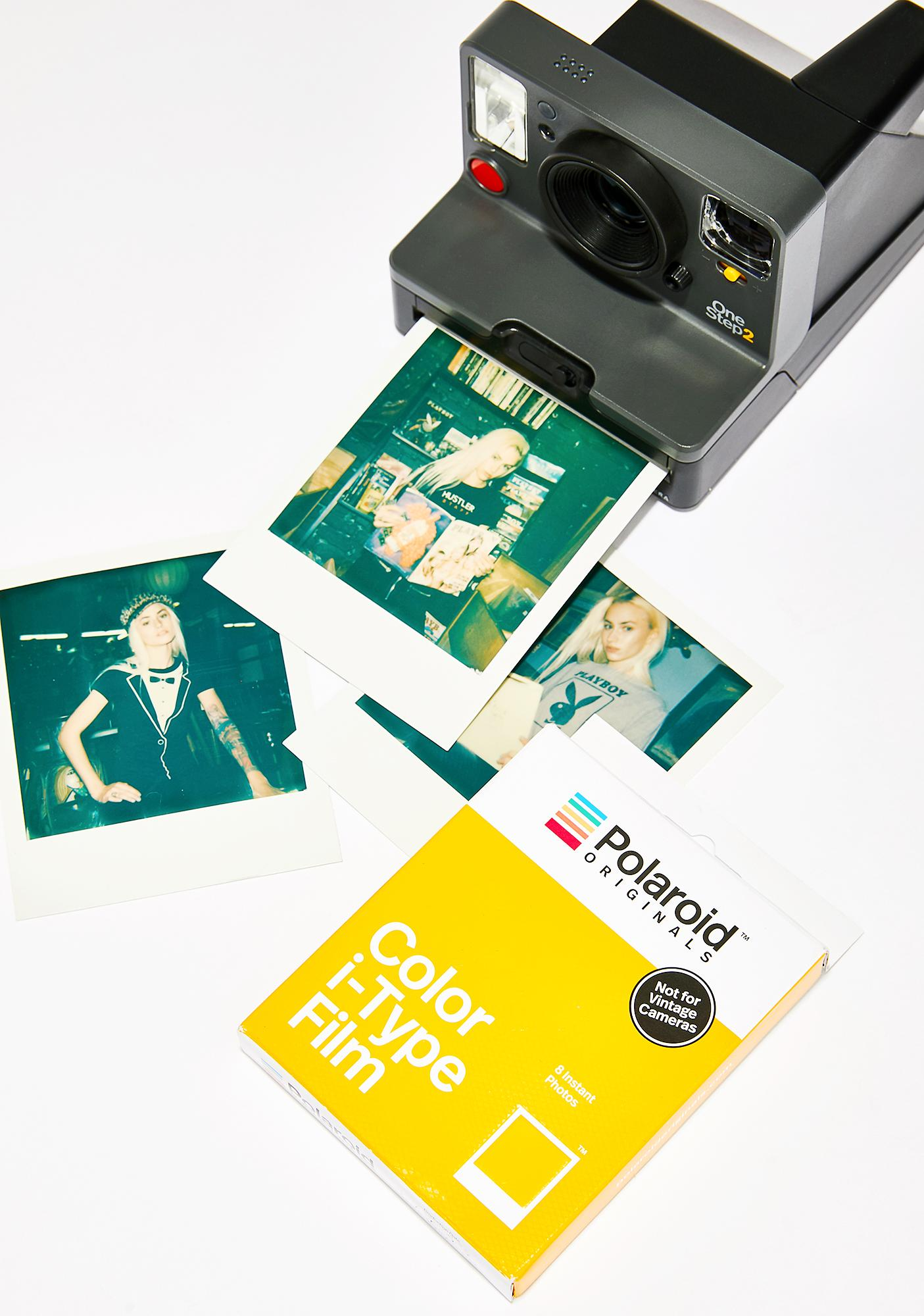 The Impossible Project i-Type Color Polaroid Film