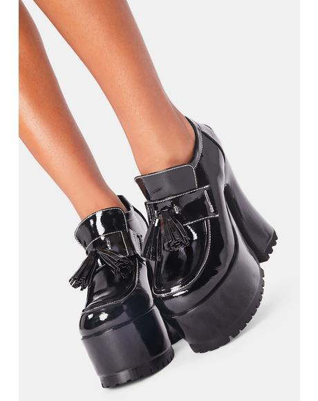 Vengeful Valedictorian Platform Loafers