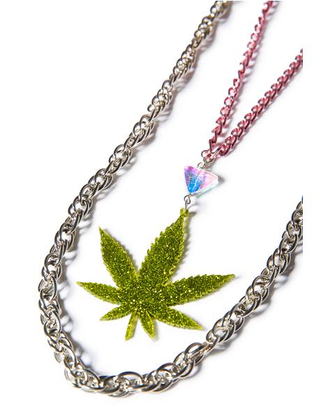 Weed Gang Necklace