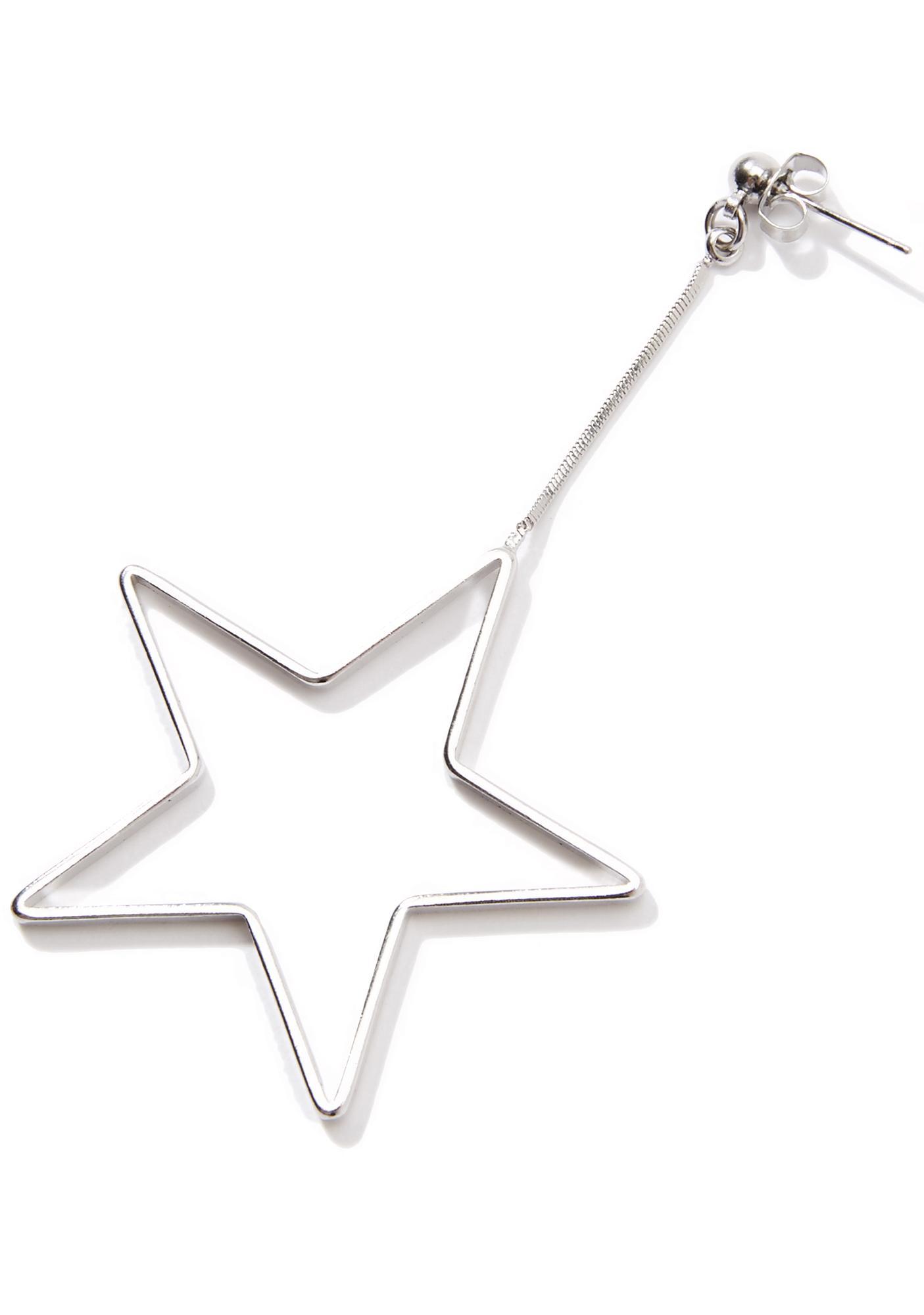 Cosmic Being Star Earrings