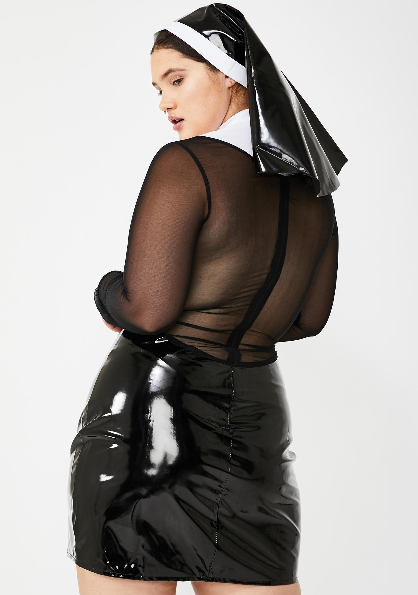 Dolls Kill Baddie Mama Don't Preach Costume