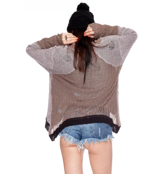 Chaser Long Sleeve Cardigan Sweater