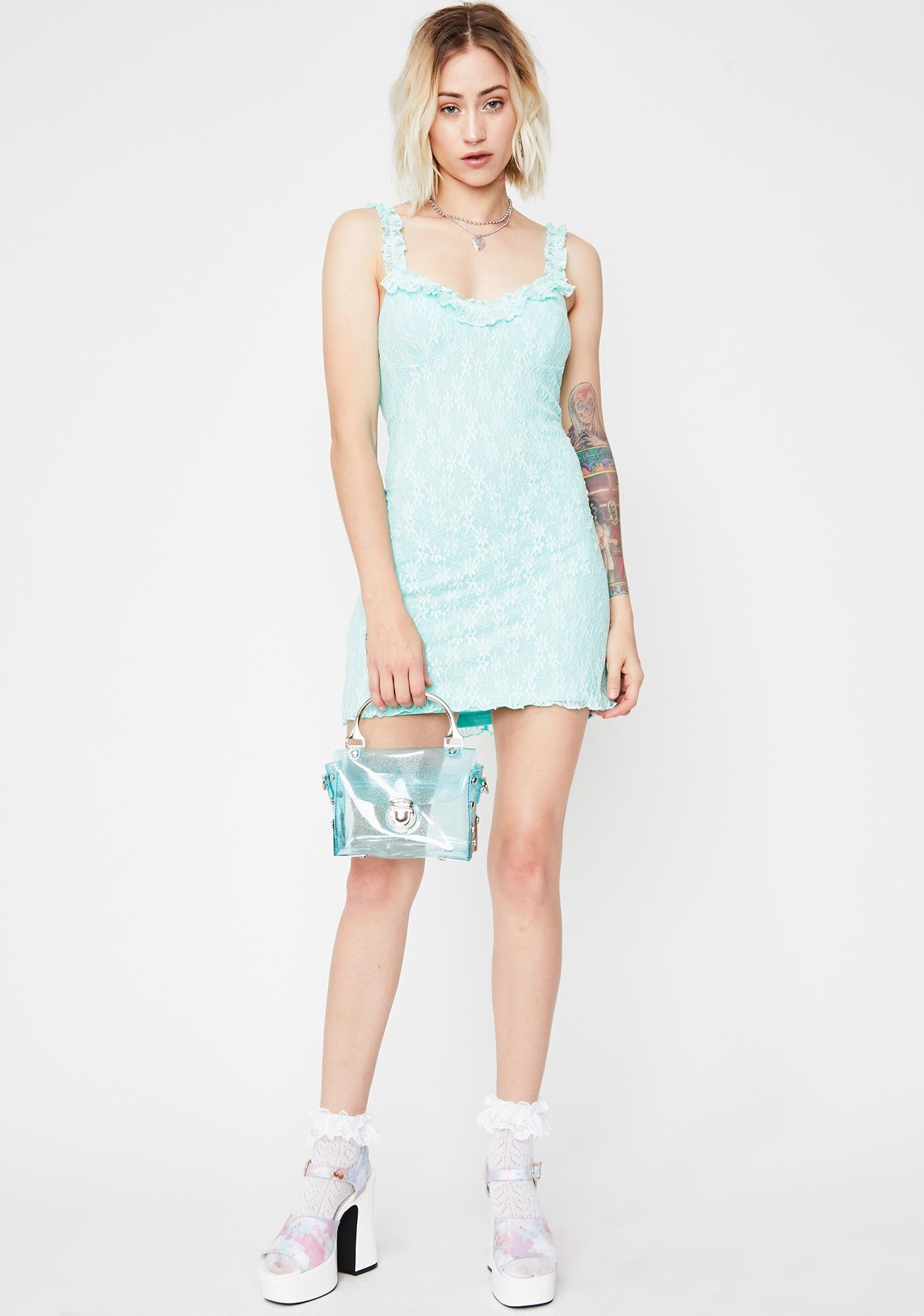 Daisy Damsel Mini Dress