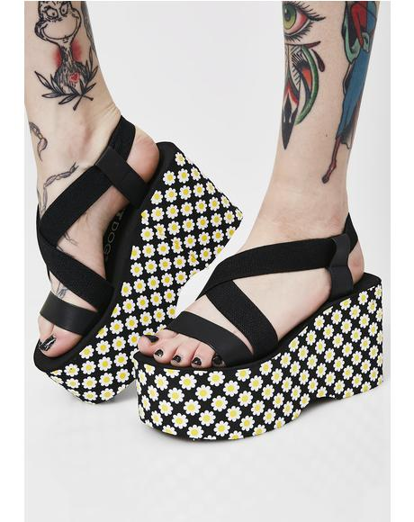 Daisy Platform Sandals