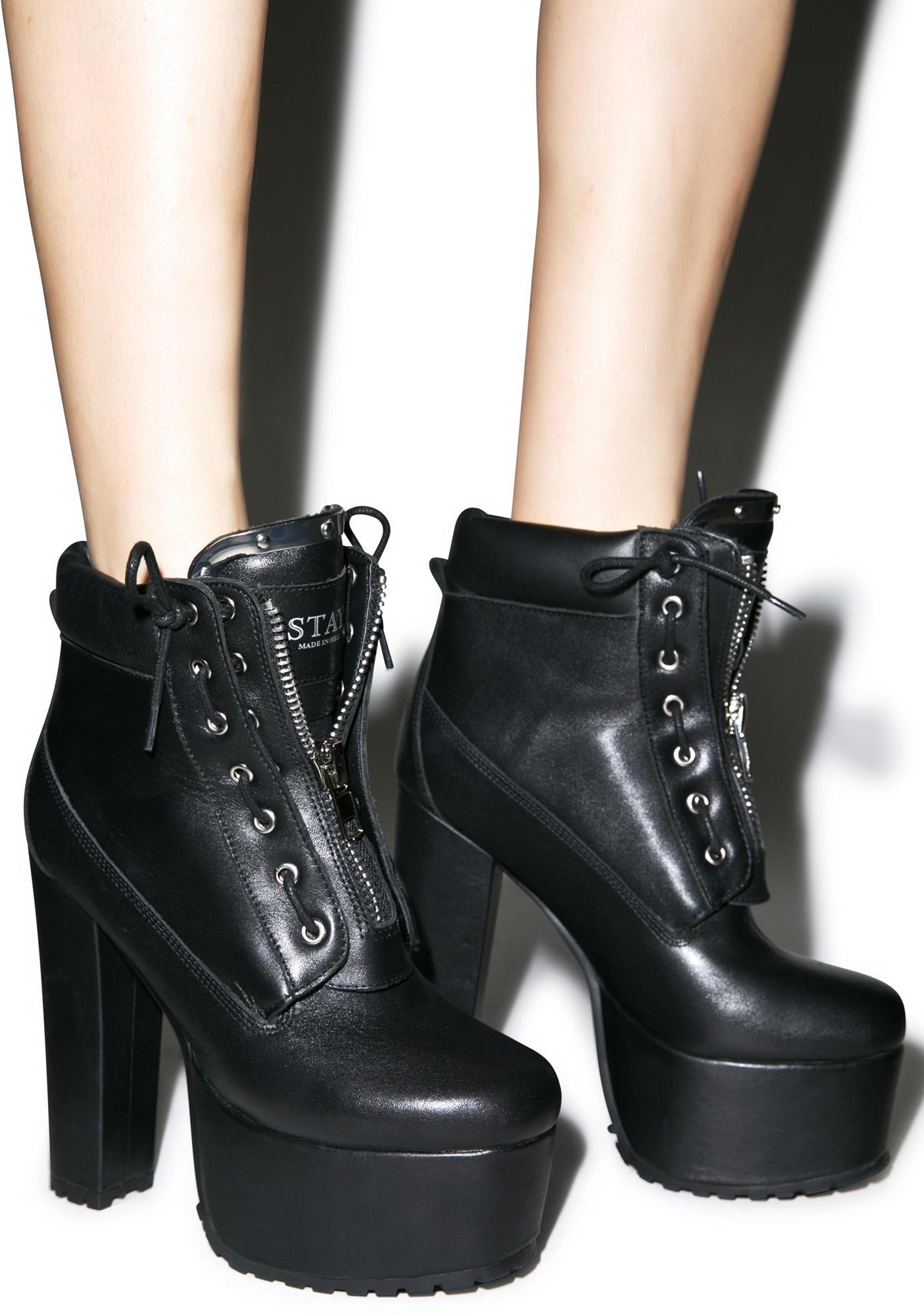Current Mood Stay Dark Prophecy Platform Boots