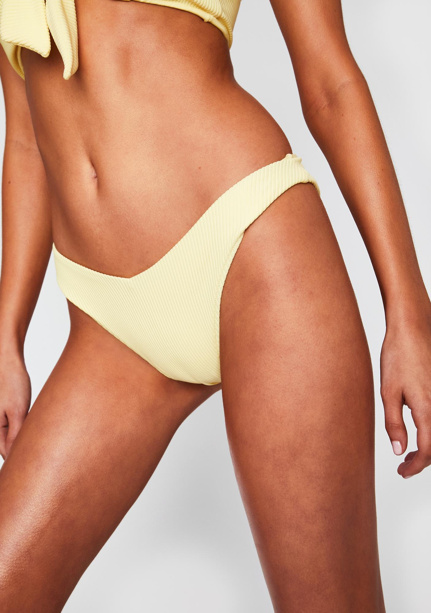 Frankies Bikinis Daffodil Enzo Bikini Bottoms