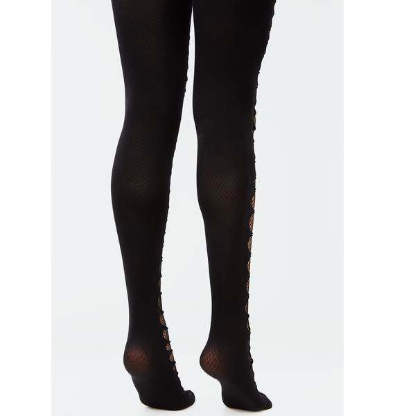 Sweet Disaster Fishnet Tights