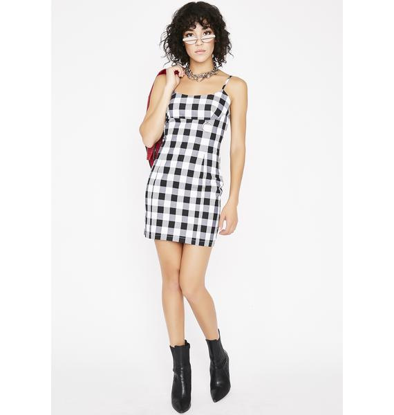 All The Rage Check Dress