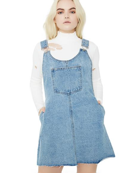 Friendly Neighbor Denim Dress