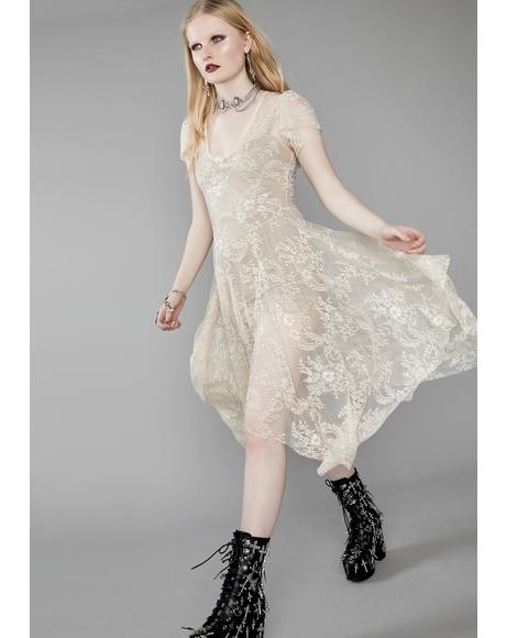 Dearly Departed Lace Dress