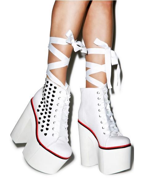Innocent Sweet Street Platform Sneakers