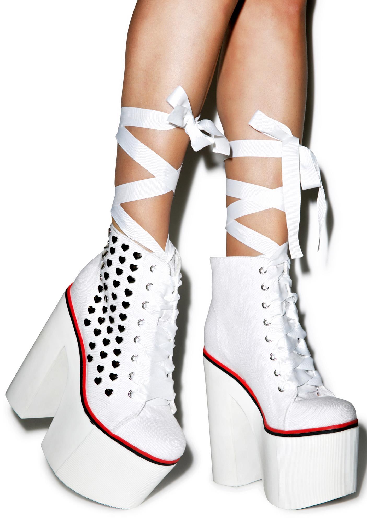 Sugar Thrillz Innocent Sweet Street Platform Sneakers
