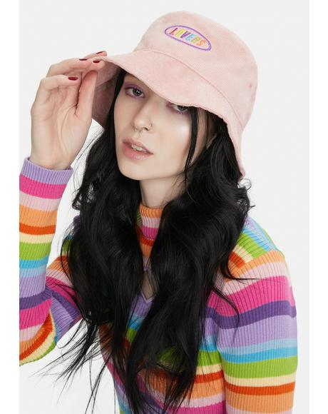 Lovers Corduroy Bucket Hat