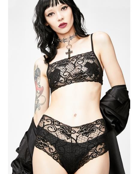 Night Temptation Lace Set