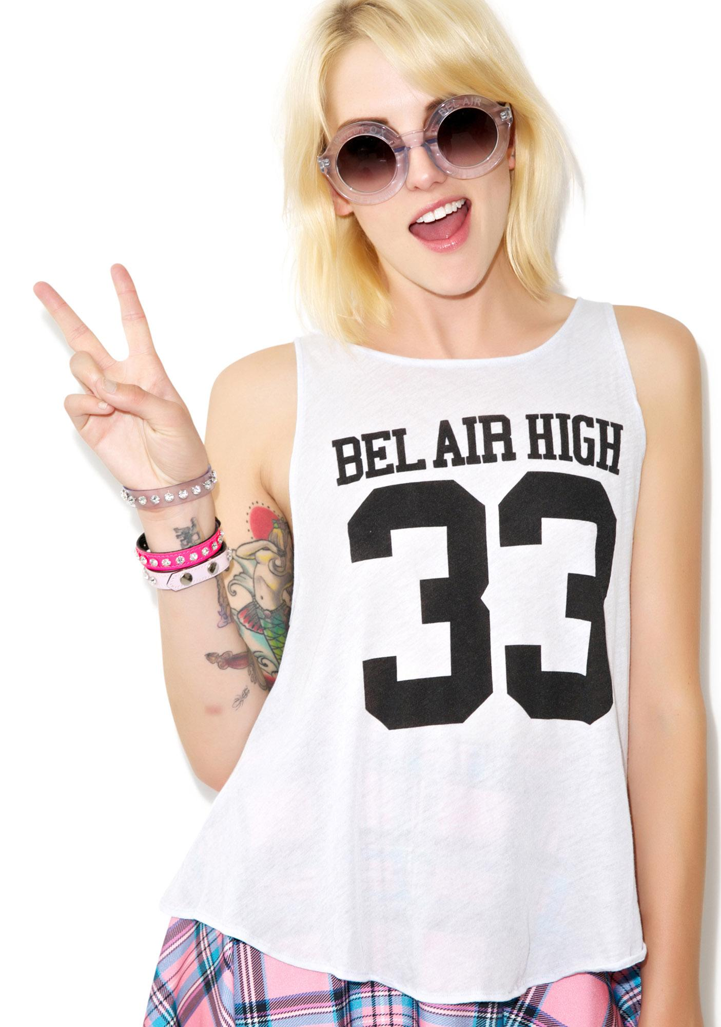 Wildfox Couture Bel Air High Cassidy Tank