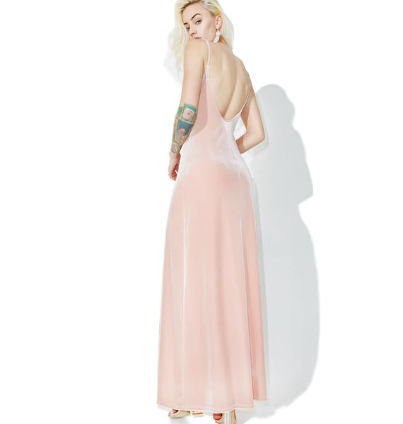 So Swanky Velvet Maxi Dress