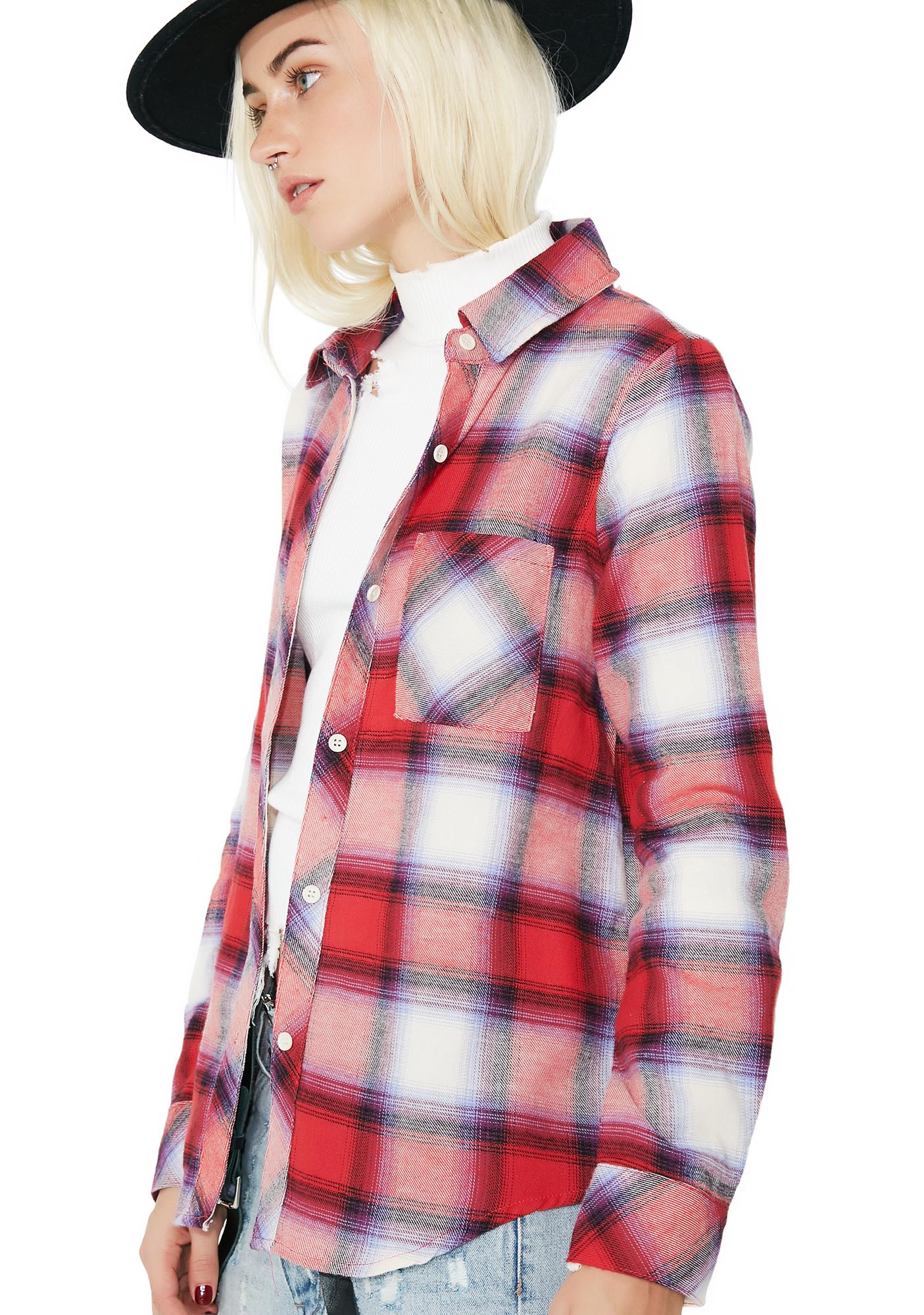 State Of Mind Flannel Shirt