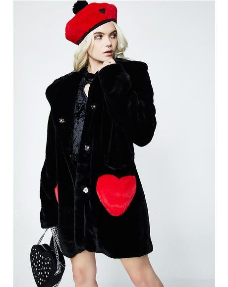 Queen Of Hearts Coat