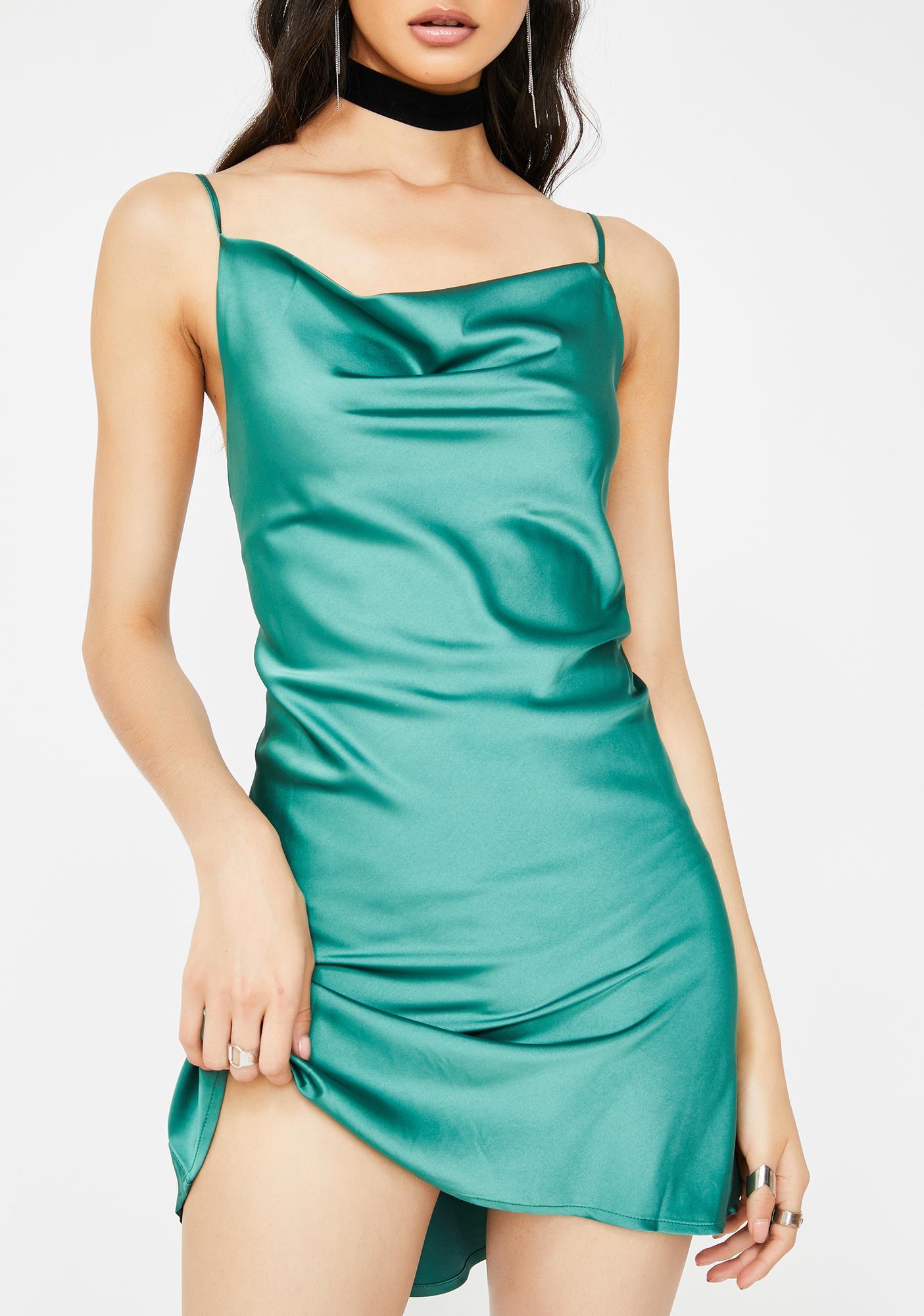Cash High Class Sass Satin Dress