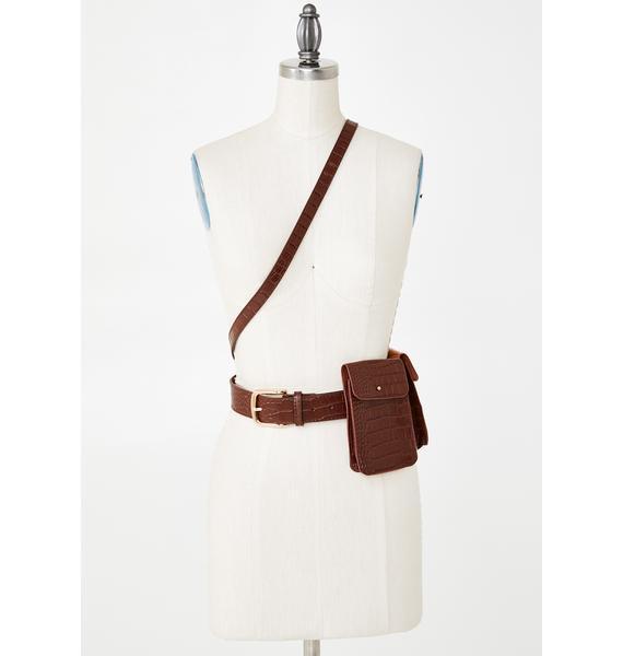 West End Girls Harness Belt