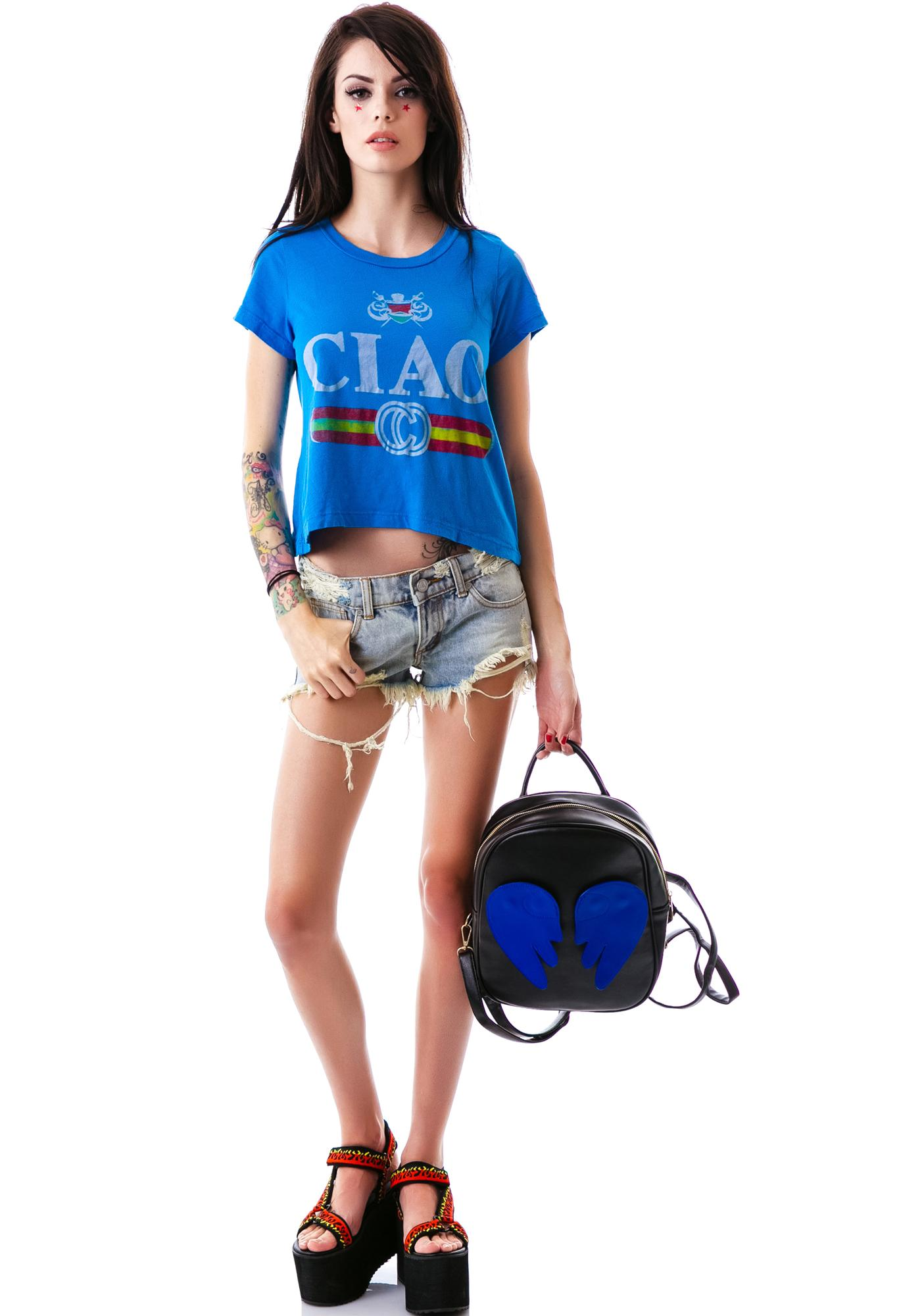 Rebel Yell Ciao Crop Tee