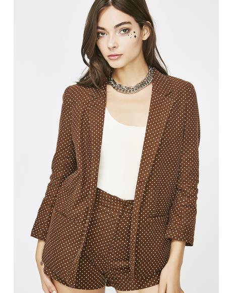 Hit The Books Corduroy Blazer