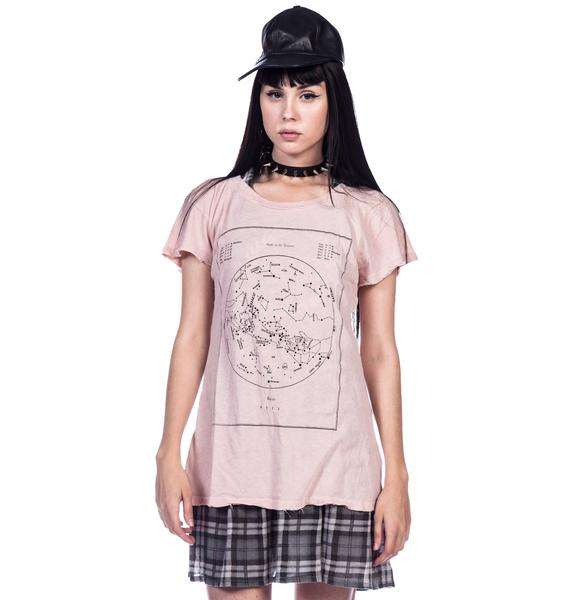 Wildfox Couture The Heavens Hippie Crew Tee