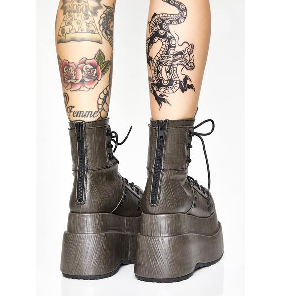 Demonia The Conqueror Platform Boots